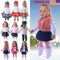 doll clothes pajames for 18inch american girl