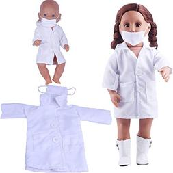 Hisoul Doll Clothes Fashion Doctor Cosplay Clothes Wardrobe