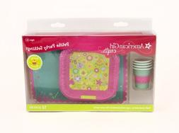 American Girl Crafts Doll Size Plates Cups And Placemats
