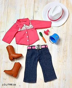 """18"""" Doll Western Horse Riding Outfit Horseback Country Cowgi"""