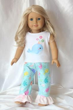 Dress Outfit fits 18inch American Girl Doll Clothes Unicorn