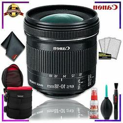Canon EF-S 10-18mm f.4.5-5.6 is STM Lens  + 4.5 inch Vivitar