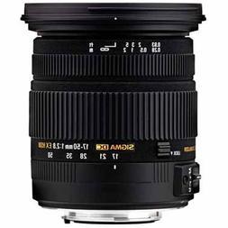 Sigma 17-50mm F2.8 EX DC HSM OS Lens