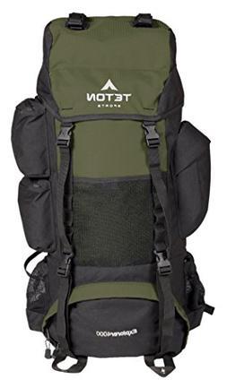 TETON Sports Explorer 4000 Internal Frame Backpack; Great Ba