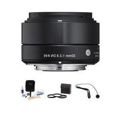 Sigma 30mm f/2.8 DN Lens f/Micro Four Thirds Cameras, Black