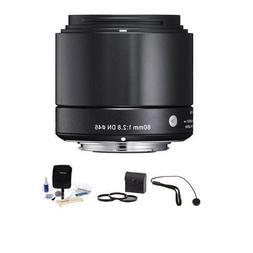 Sigma 60mm f/2.8 DN ART Lens for Sony E-mount Nex Cameras, B