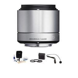 Sigma 60mm f/2.8 DN ART Lens for Sony E-mount Nex Cameras, S