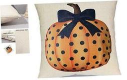 Fall Halloween Pumpkin Pillow Cover 18 x 18 inch,Home Decora