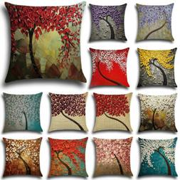 Fashion 18inch Cotton Linen Throw Pillow Case Cushion Cover