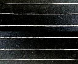 Fine Quality Sterling Silver Chains .925 BOX Link 1 /1.5 /2