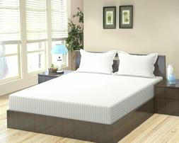 Fitted Bottom Sheet And Pillow Case 100% Egyptian Cotton 600