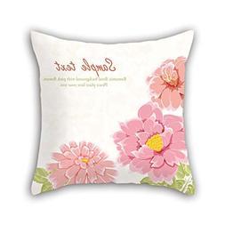 Flower Pillow Cases Best For Bedroom Play Room Kids Room Fes