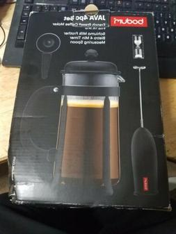 French Press Coffee Maker Bodum Java 34 Ounce 1 Liter 8 Cup
