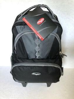 genesis 18 inch rolling backpack black