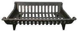 Ghp Group CG18 18-Inch Cast Iron Fireplace Grate
