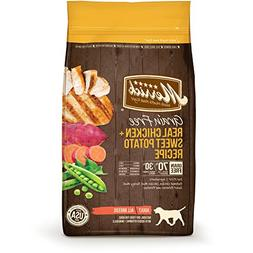 Merrick Grain Free Chicken & Sweet Potato Dry Dog Food, 4 lb