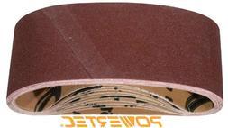POWERTEC 110830 3-Inch x 18-Inch 120 Grit Aluminum Oxide San