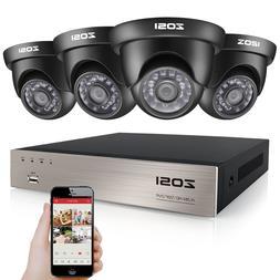 ZOSI HD 1080N 8CH HDMI DVR 1500TVL IR Outdoor CCTV Home Secu