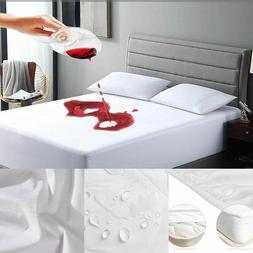 Hypoallergenic Mattress Protector Cotton Terry Waterproof Co