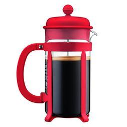 Bodum Java French Press Coffee Maker, 34 oz, Red