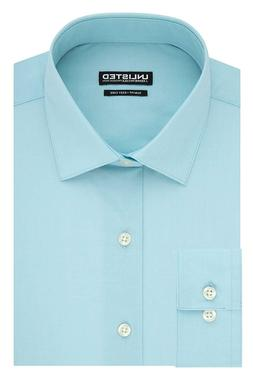 Kenneth Cole Unlisted Men's Slim Fit Solid Spread Collar Dre