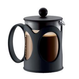 Bodum KENYA Coffee Maker, French Press Coffee Maker, Black,