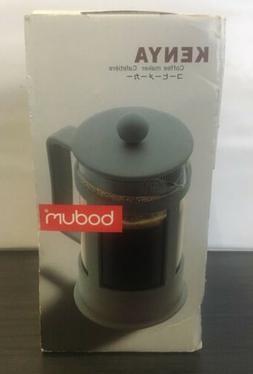 Bodum Kenya French Press 3-Cup Coffee Maker, White, 0.35 L