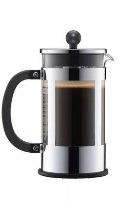 Bodum KENYA French Press Coffee Maker, 34 oz, 1 L, 8 Cup, Ch