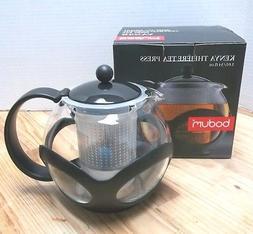 Bodum Kenya Tea Press NIB Make an EXCELLENT cup of tea Large