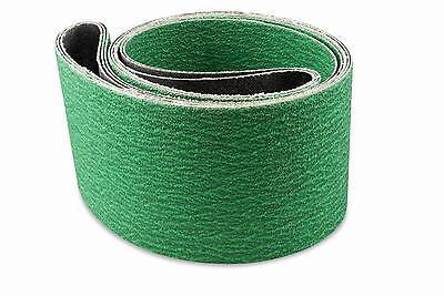 1/2 X 18 Inch 80 Grit Zirconia Air File Sanding Belts, 10 Pa