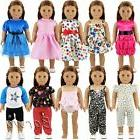 Barwa 10 Sets Doll Clothes 5 Sets Clothes Outfits and 5 Sets