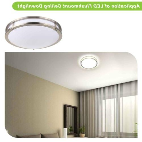 Hykolity 12 Ceiling 18W 100W Round Dimmable Listed