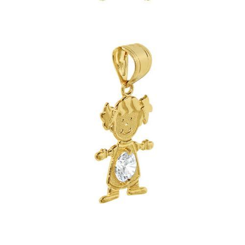 14k Gold Pendant Necklace