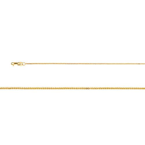 14k CZ Birthstone Pendant Necklace