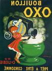 175140 Bouillon Oxo Cappiello Vintage Ad Art Decor WALL PRIN