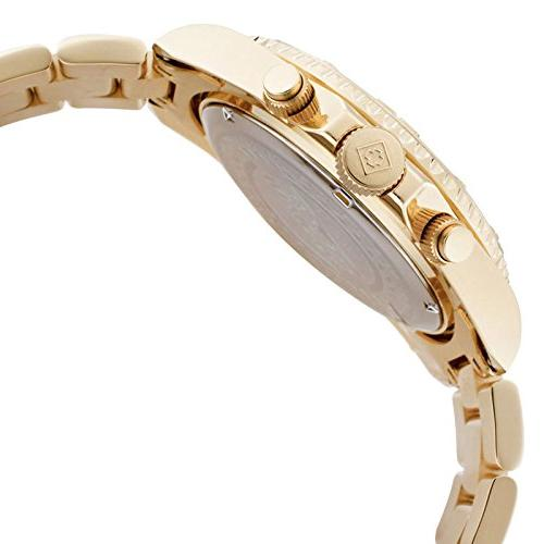 Invicta 1774 Collection 18k Gold Ion-Plated Stainless Steel