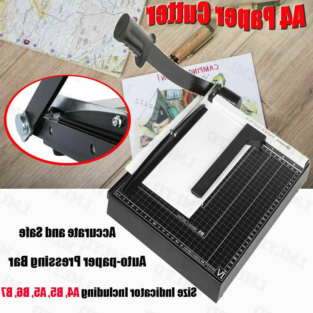 18 Inch A4 to B7 Guillotine Paper Booking Blade.