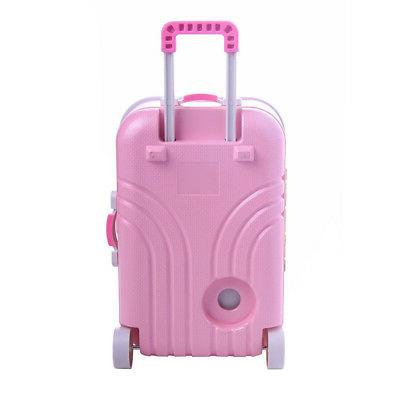 18 American Girl Dolls Carry Suitcase Set