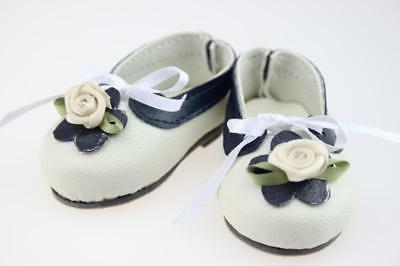 18-inch American Girl white doll accessories, custom shoes
