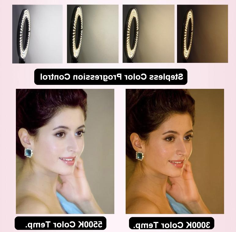 Fodoto LED Ring Light for Social and Beauty Shoot