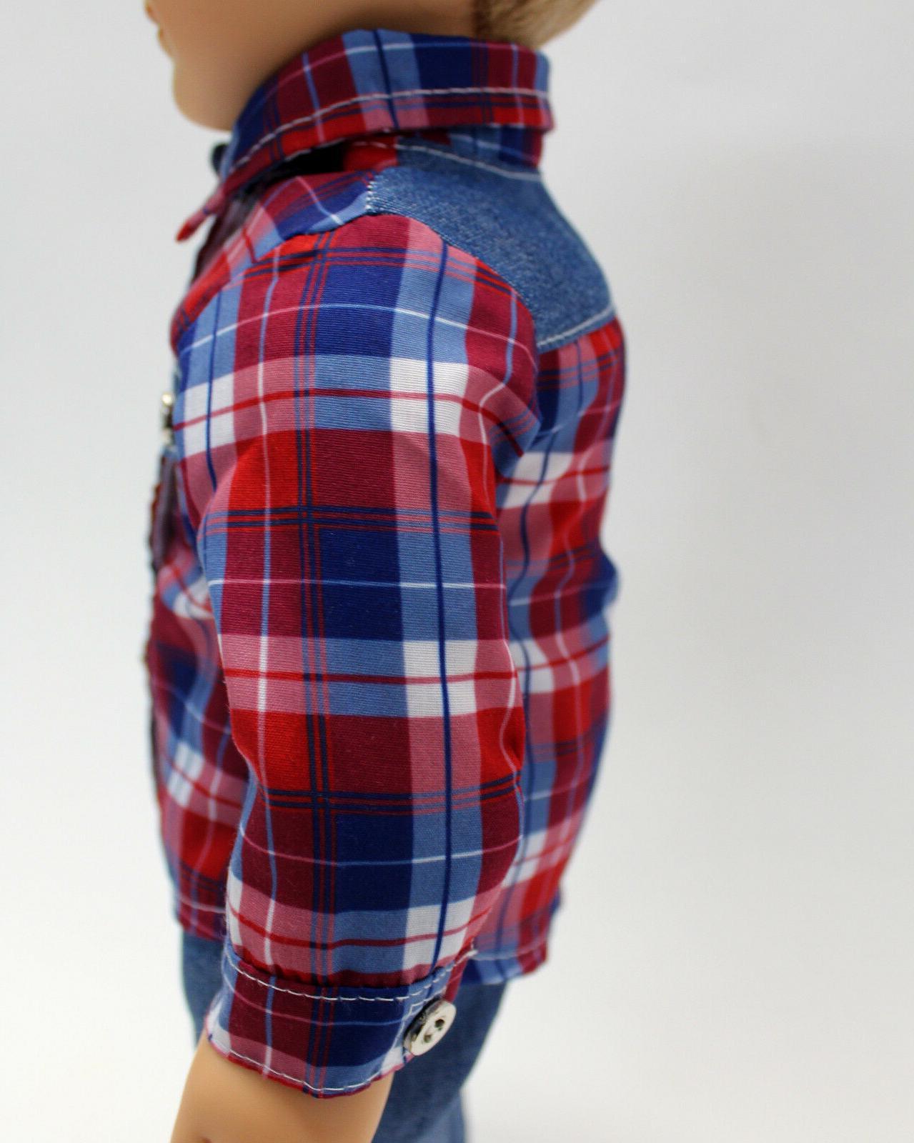 18 Boy Outfit Jeans Set