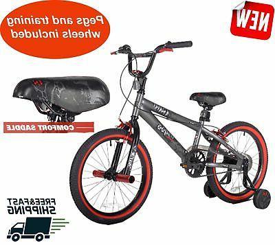 18 inch boys bmx bike and mohawk