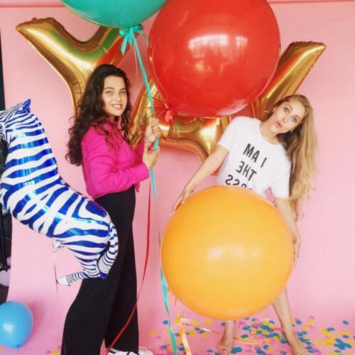 18inch Colorful Big Latex Balloons Wedding Balloon Birthday