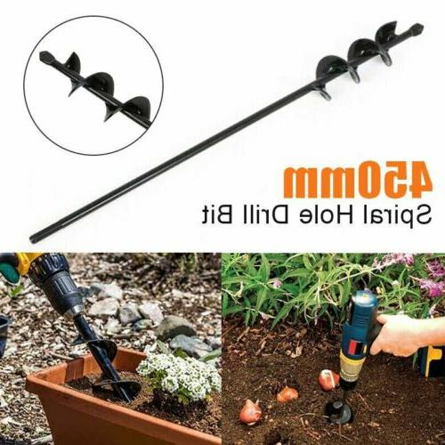 18 inch earth planter spiral drill bit