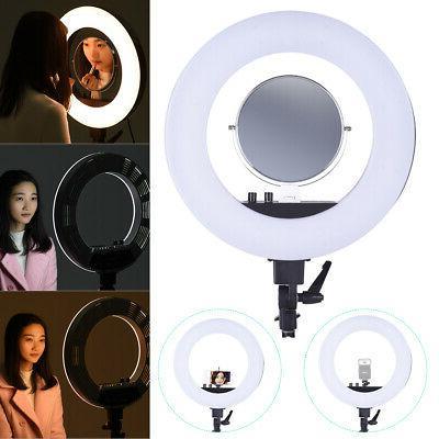 Andoer 18inch LED Video Rings Light Fill in Lamp Studio Ligh