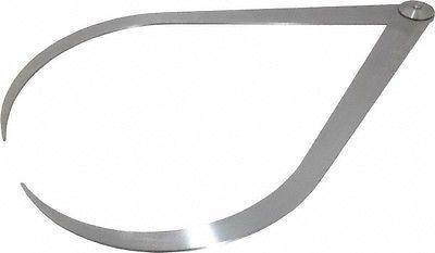 Starrett 18 Inch Leg, Firm Joint, Steel, Polished, Outside C
