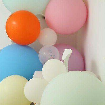 18 inch matte latex helium balloons party