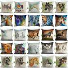 18 inch Watercolor Horse Sofa Cushion Cover Fashion Pillow C