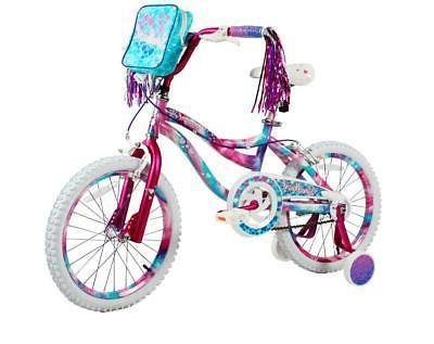 "18"" Kids Bike Girls 18-inch Wheels Bicycle with Training Whe"