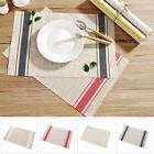 """18"""" x 12"""" Placemats Set of 4/6 Unique Kitchen Table Mats PVC"""